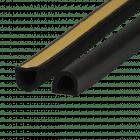 EKI 241 EPDM sponsrubber D-profiel
