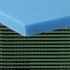 EKI 5563 filterschuim blauw 45 PPI