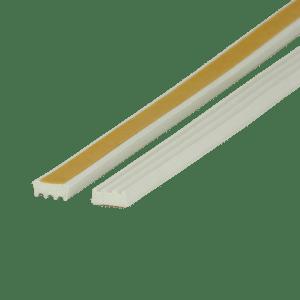 EKI 245 EPDM sponsrubber kroonband wit
