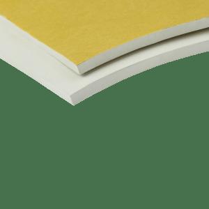 EKI 255 SBR rubber zelfklevend wit