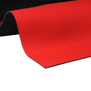 EKI 4116 neoprene met 2 kanten nylon rood