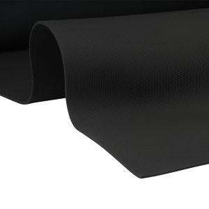 EKI 4900 neoprene met 1 kant nylon shark skin zwart